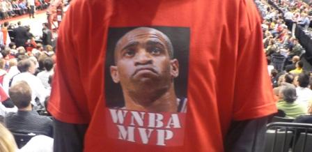 vince carter wnba mvp t-shirt