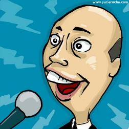 chuck swirsky caricature cartoon