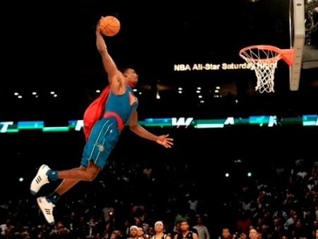 dwight howard dunk contest superman